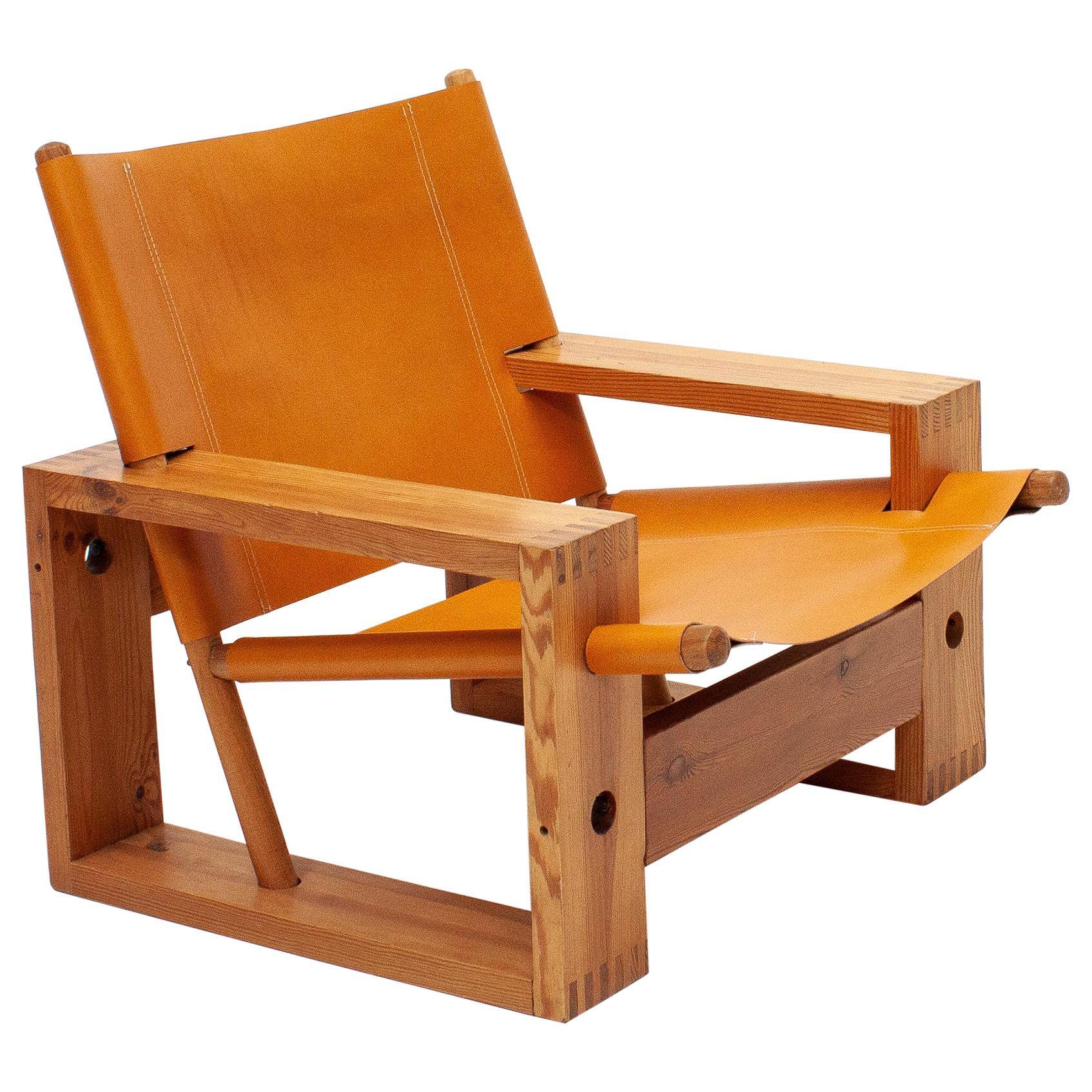 Ate Van Apeldoorn Dutch Midcentury Easy Chair for Houtwerk Hattem, 1970s