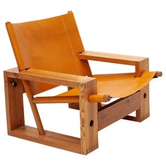 Ate Van Apeldoorn Dutch Midcentury Easy Chair for Houtwerk Hattem, 1970s