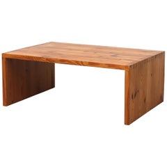 Ate Van Apeldoorn Pine Coffee Table or Bench