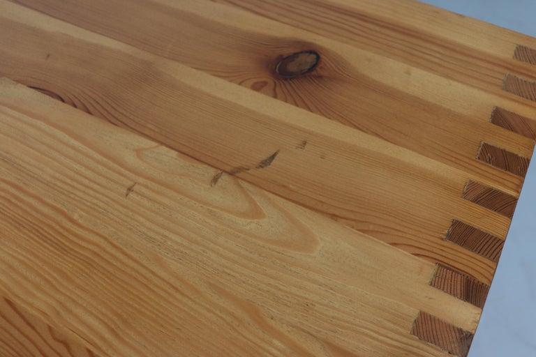 Ate Van Apeldoorn Pine Console Table For Sale 12