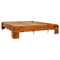Ate Van Apeldoorn Pine European King Bed Frame