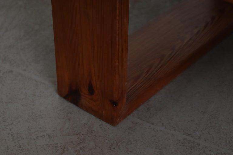 Ate Van Apeldoorn Pine Slat Bench For Sale 2