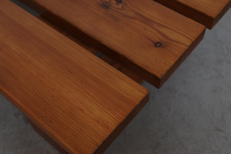 Ate Van Apeldoorn Pine Slat Bench For Sale 3
