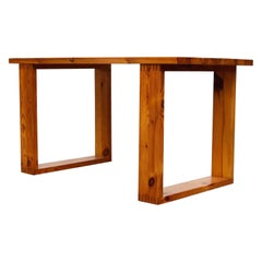 Ate Van Apeldoorn Pine Table with Square Legs