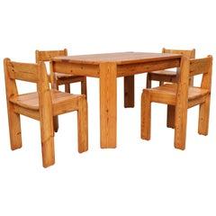 Ate van Apeldoorn Style Pine Dining Set