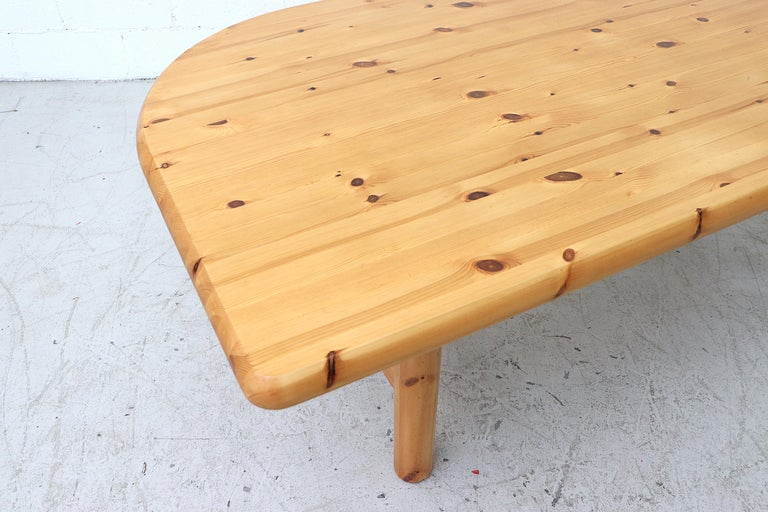 Wood Ate Van Apeldoorn Style Pine Dining Table For Sale