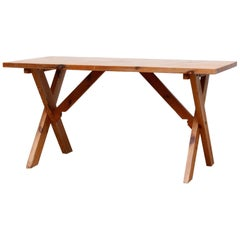 Ate Van Apeldoorn X-Base Pine Dining Table