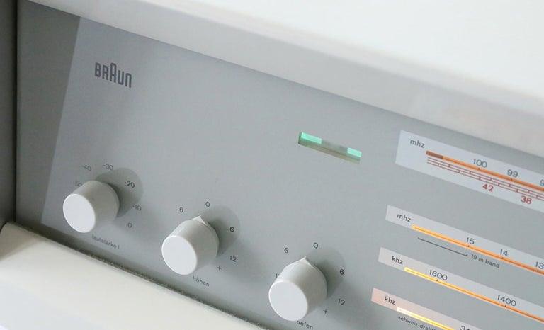 RCS9 Tube Radio von Dieter Rams für Braun, 1961 3