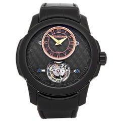 Atelier de Monaco Grand Tourbillon Oculus 1297 Men's Titanium Watch