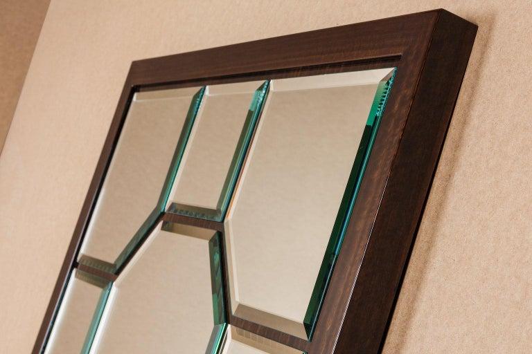 Modern Atelier Linné Esprit Mirror in Eucalyptus For Sale