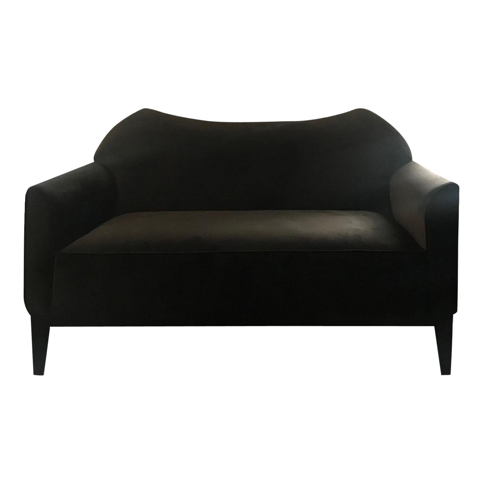 Atelier Linné Jade Sofa Two Seats in Tinted Beechwood