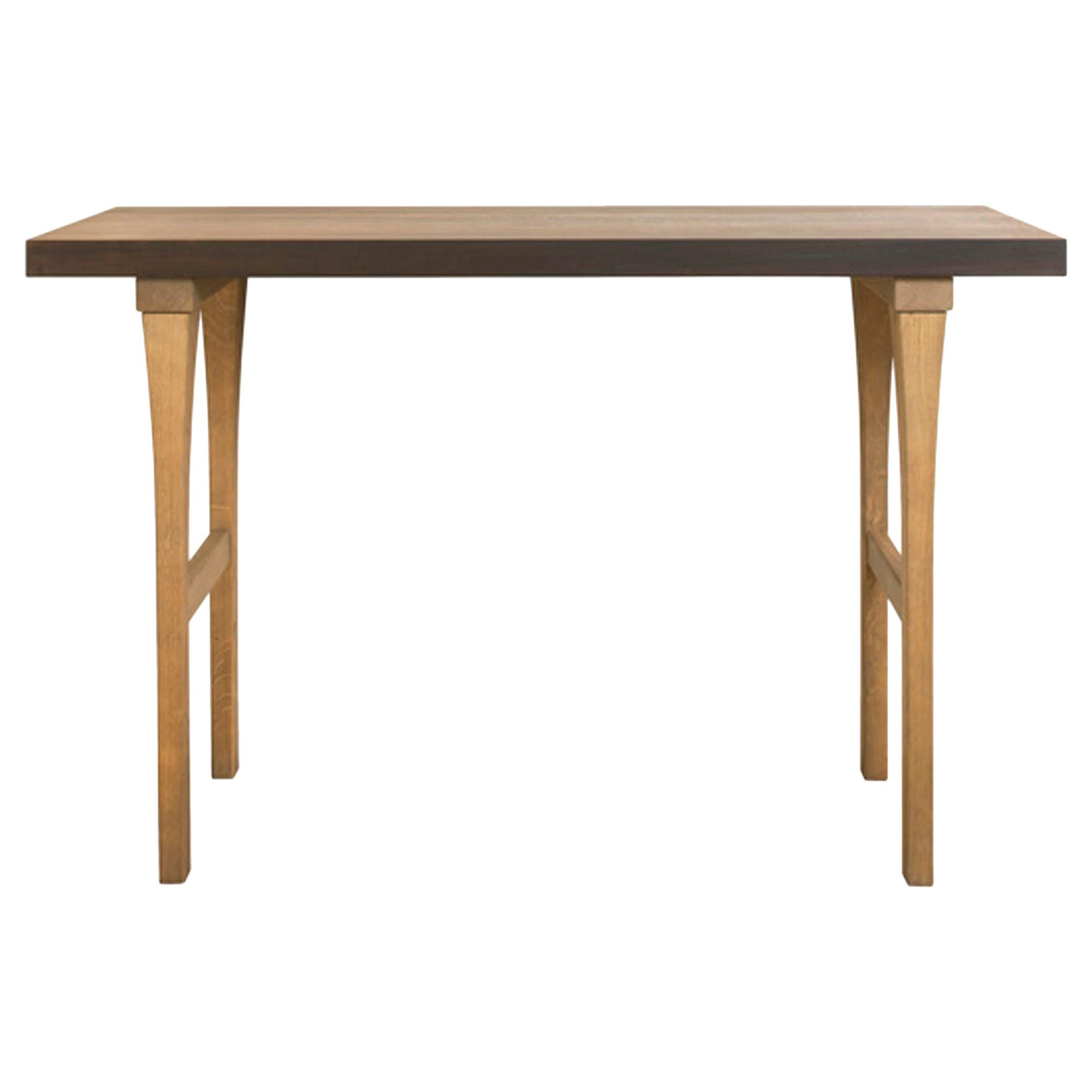 Atelier Linné Ming Console in Tinted Oak and Oiled Eucalyptus