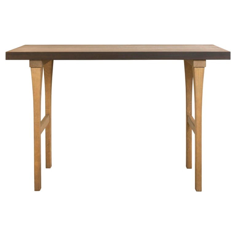 Atelier Linné Ming Console in Tinted Oak and Oiled Eucalyptus For Sale