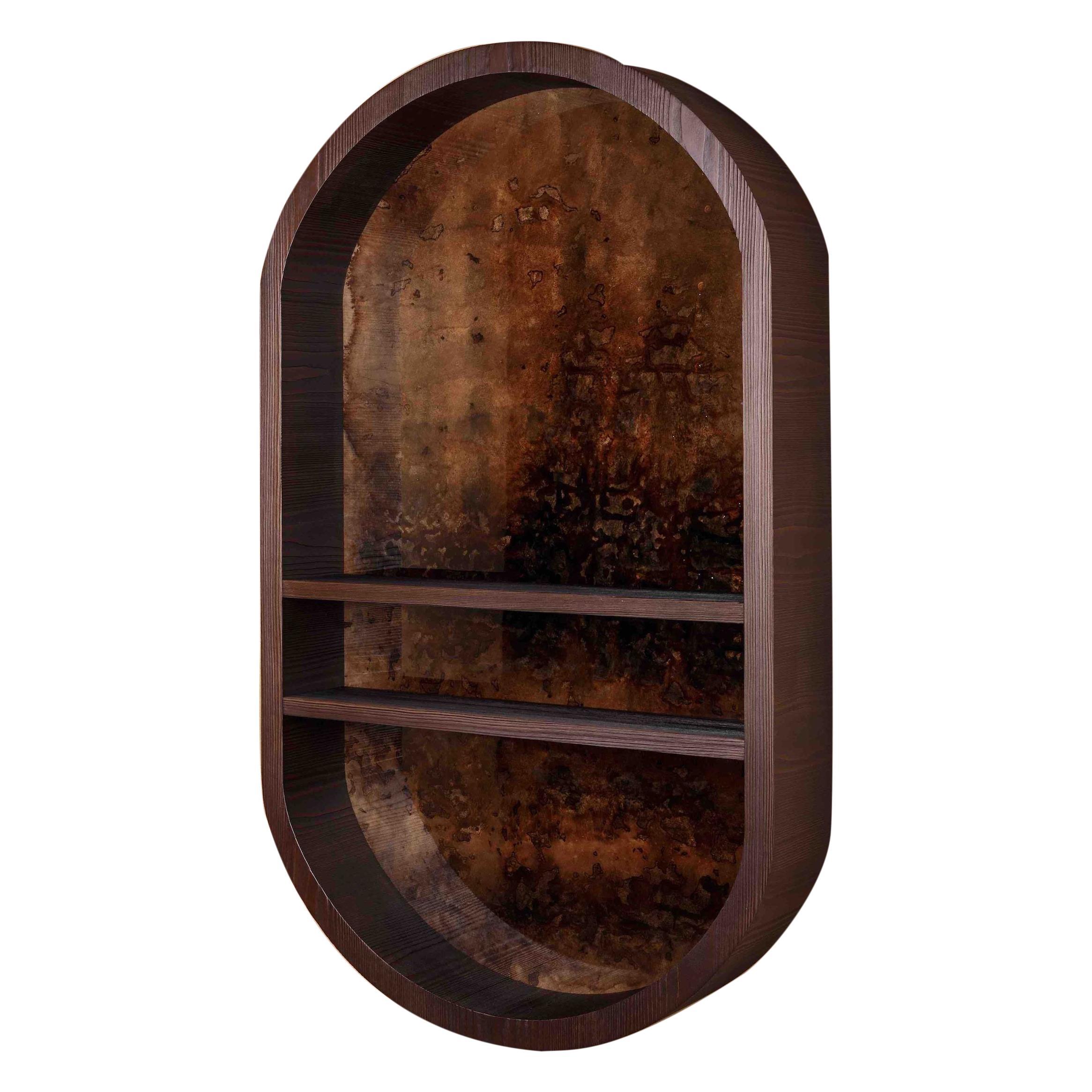 Atelier Linné x Denis Perrollaz Shelf Éléments in Pine and Lacquer
