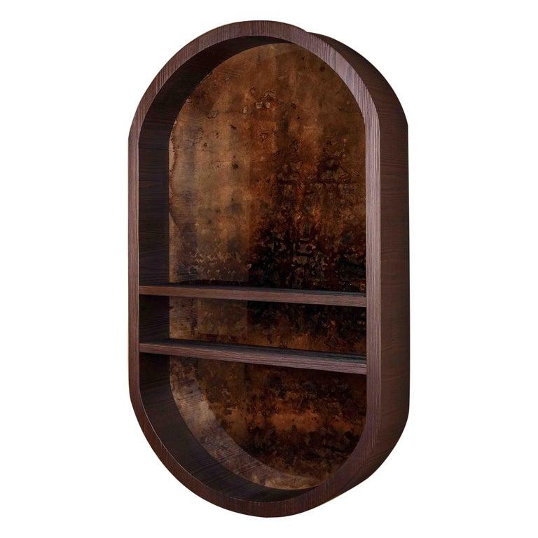 Atelier Linné x Denis Perrollaz Shelf Éléments in Pine and Lacquer For Sale