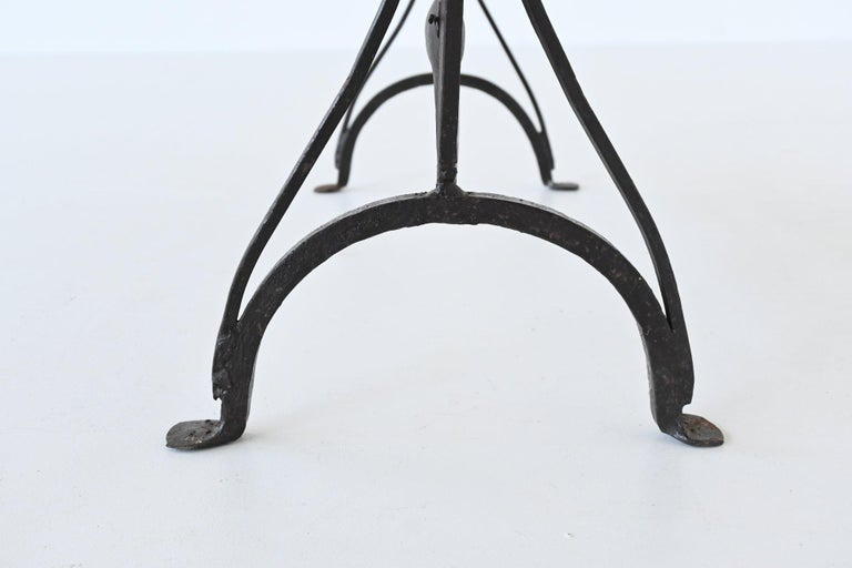 Atelier Marolles Wrought Iron Animal Screens, France, 1950 For Sale 7