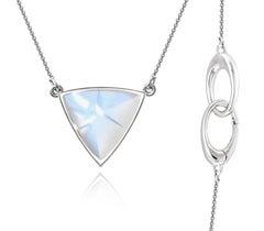Atelier Munsteiner Custom Moonstone Platinum Pendant Necklace