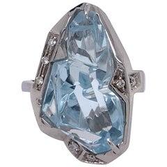 Atelier Munsteiner Cut Gold Diamond Ring