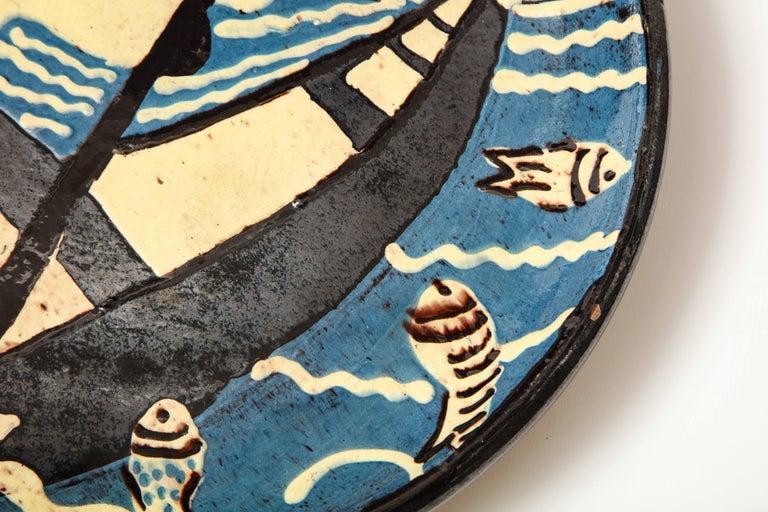 Atelier Primavera Ceramic Platter In Good Condition In New York City, NY