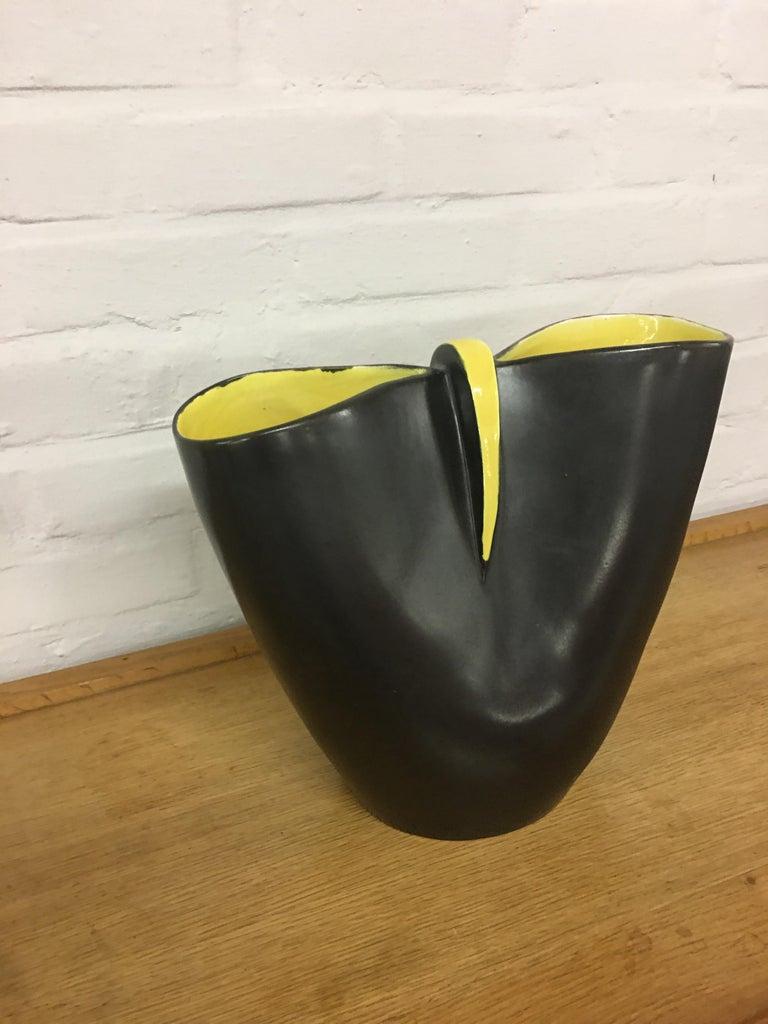Atelier Revernay midcentury biomorphic vase, circa 1950.