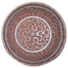 Atelier Revernay Stoneware Art Deco Charger