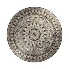 Athena Round Mosaic Panel by Mutaforma