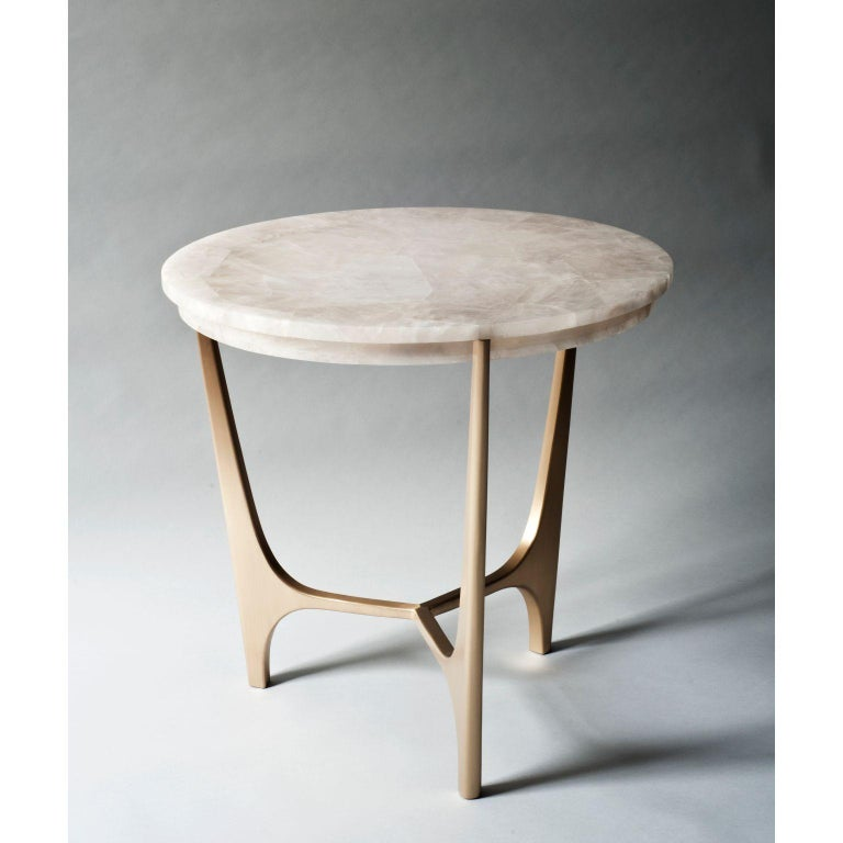 Athena side table by DeMuro Das