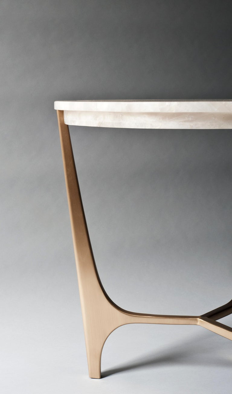 American Athena Side Table by DeMuro Das For Sale