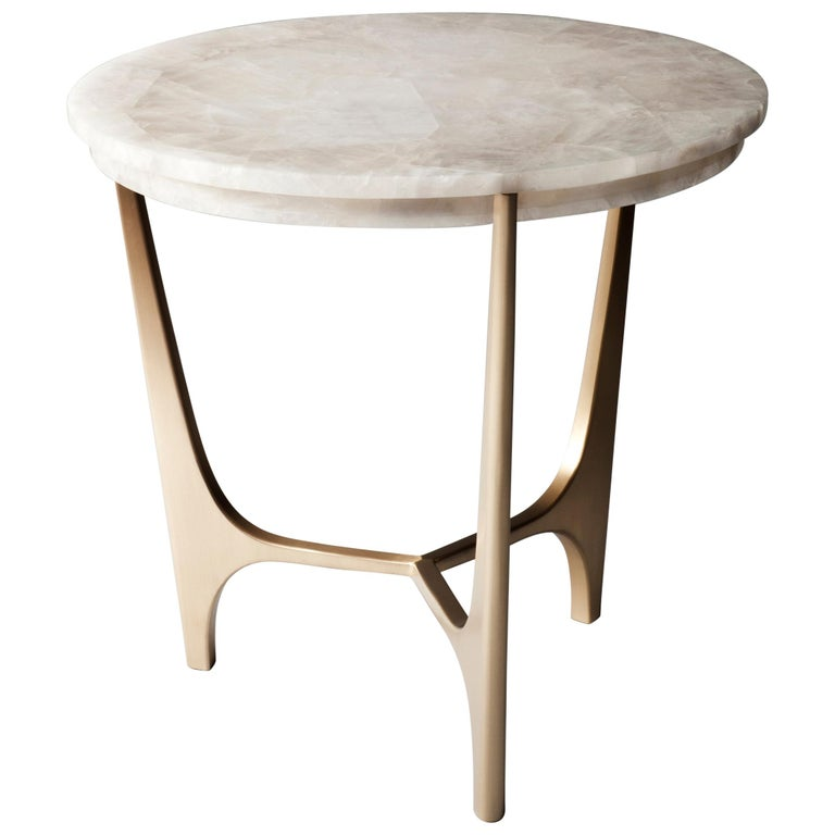 Athena Side Table by DeMuro Das For Sale