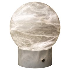 Athena AlabasterTable Lamp by Atelier Alain Ellouz