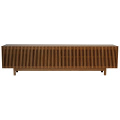 'Athena' Woodwork Natural Walnut Credenza in Woodwork
