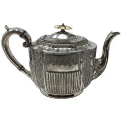 Atkin Brothers Silver Plate Teapot