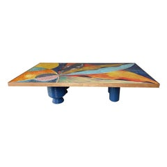 Atlantide Rectangular Coffee Table by Mascia Meccani