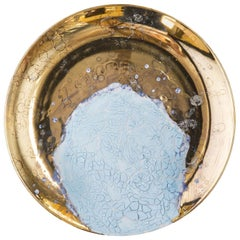Atlantis Wall Plate Blue and Gold