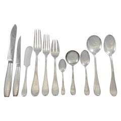 Atlas by Cartier Sterling Silver Flatware Set 12 Service 190 Pieces Dinner