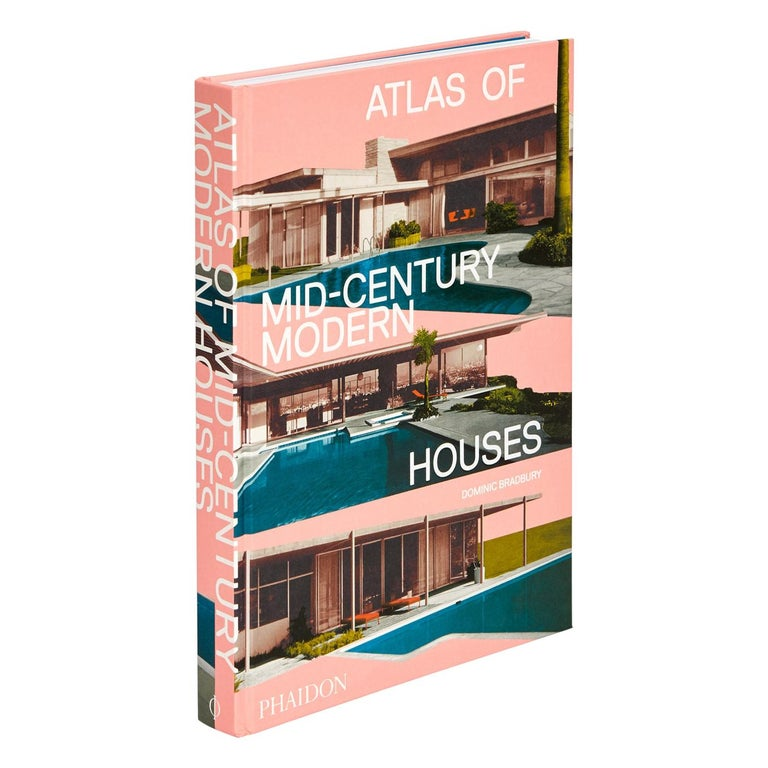 Atlas of Mid-Century Modern Houses Book For Sale
