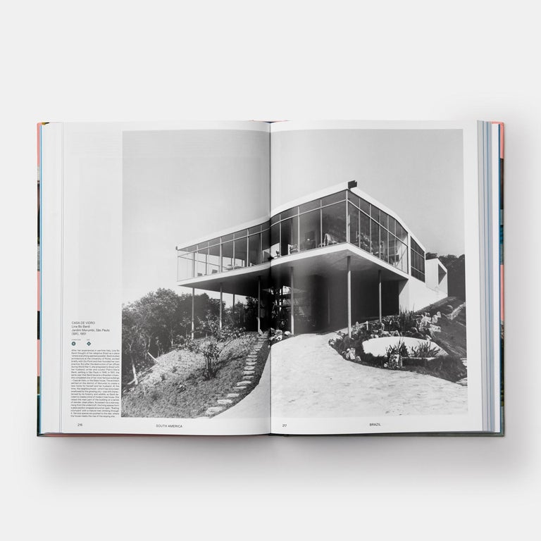 Paper Atlas of Mid-Century Modern Houses Book For Sale