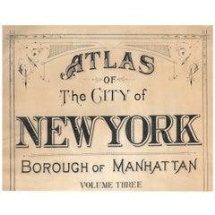 Atlas of the City of New York, Borough of Manhattan