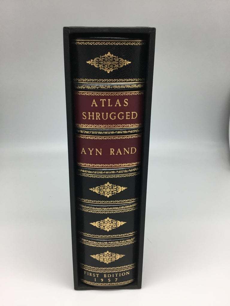 American Atlas Shrugged by Ayn Rand, First Edition, First Printing, 1957 For Sale