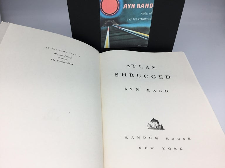 Atlas Shrugged by Ayn Rand, First Edition, First Printing, 1957 In Good Condition For Sale In Colorado Springs, CO