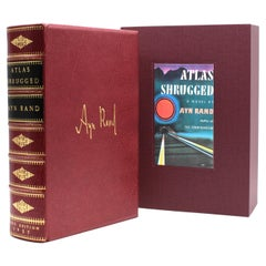 Atlas Shrugged by Ayn Rand, First Edition, First Printing, 1957