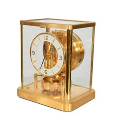 Atmos Jaeger Le Coultre Mantle Perpetual Motion Clock