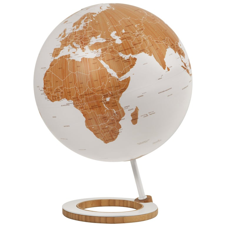 Globes For Sale >> Atmosphere Globes Bamboo Globe