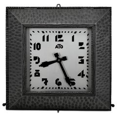 ATO French Art Deco Wall Clock, 1930s