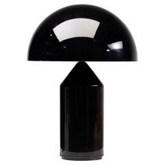 Atollo Glass Table Lamp by Vico Magistretti