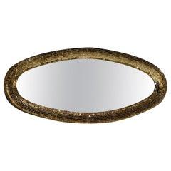 Atollo Gold Wall Mirror