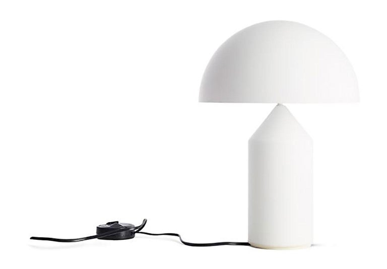 Contemporary Atollo Metal Table Lamp by  Vico Magistretti for Oluce For Sale