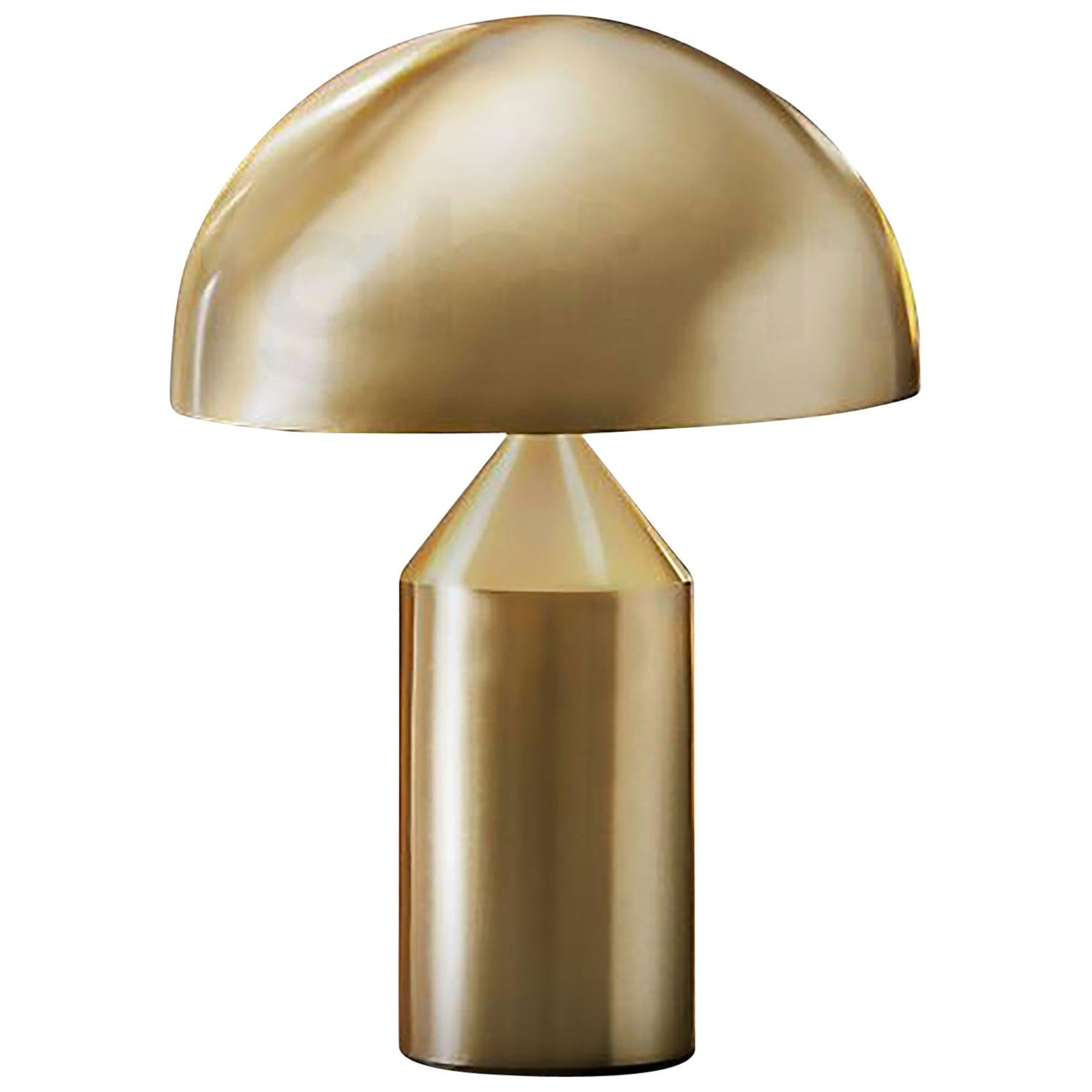 Atollo Metal Table Lamp by  Vico Magistretti for Oluce