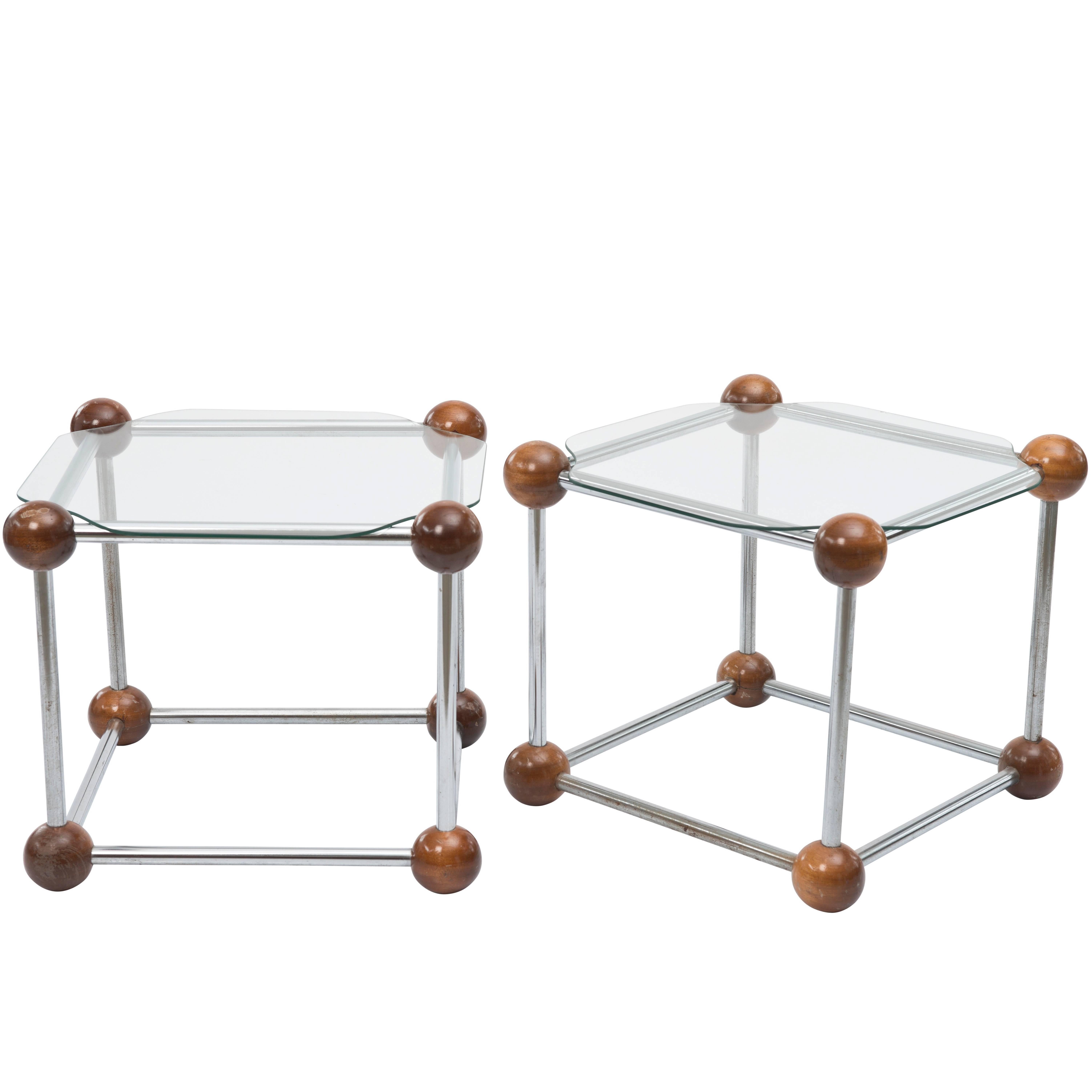 Atomic Age Side Tables For Sale