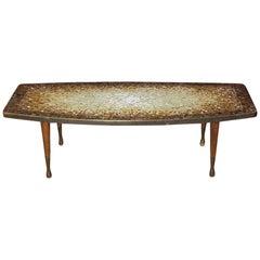 Atomic Design Mosaic Tile Coffee Table by Genaro Alvarez, circa 1955